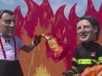 Oxfam 'ın G7 Zirvesinin Eleştirel Parodisi
