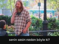 Sigaralı Sosyal Deney Videosunda En İlgili Kişiye Denk Gelmek!