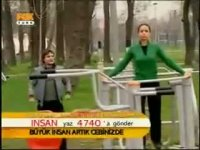 Gavat İbo Eskort Sibel'le Spor Yapıyor - Arka Sıradakiler