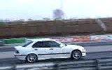 street racing - bmw m3 turbo vs corvette z06