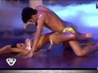Arjantin'de Dans Yarışması Müthiş Performansı
