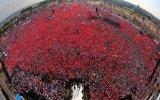 Ak Parti İstanbul Mitingi Bayrak Şovu