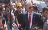 Uğur Dündar Soma'da Şok Protesto