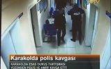 Karakolda Polislerin Esas Duruş Çatışması, Silahlar Çekildi, Trabzon Gülbaharhatun Karakolu