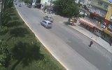 Adana'daki İlginç Kazalar Mobese Kameralarında