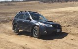 Subaru Forester XT Diagonal Test (almost)