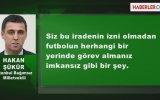 Hakan Şükür - Türk Futbolu Yerlerde Geziniyor