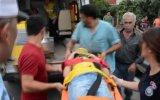 Dedesinin elini bırakan çocuğa kamyonet çarptı - ORDU