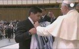 Barış İçin Dinlerarası Maçta Maradona Şov