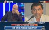 Ahmet Çakar'ın Bardak Fırlatıp Stüdyoyu Terk Etmesi