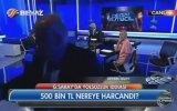 Ahmet Çakar Bardağı Fırlatıp Stüdyoyu Terk Etti