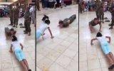 Küçük Kız Şınavda Askere Böyle Meydan Okudu
