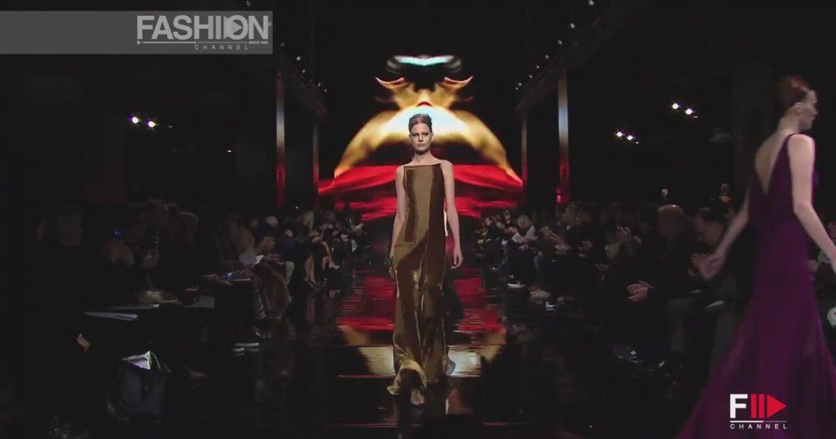 Donna Karan Full Show Hd New York Fashion Week Fall Winter 2014 2015 By Fashion Channel