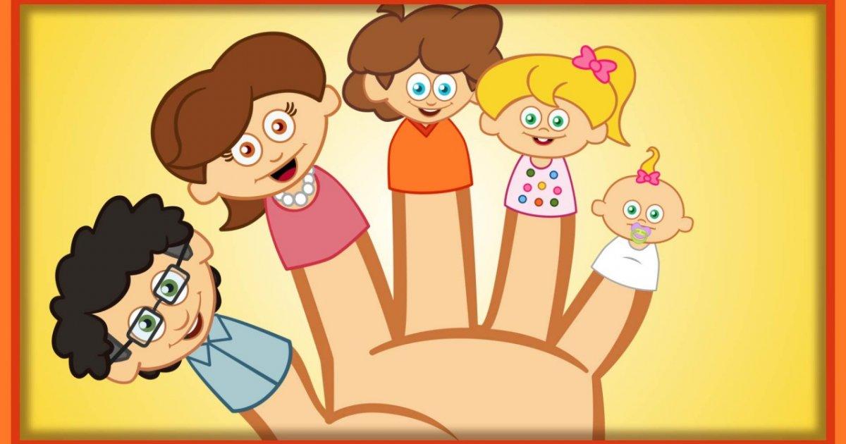 Finger Family - Sevimli Dostlar- İngilizce Çocuk Şarkıları Çizgi