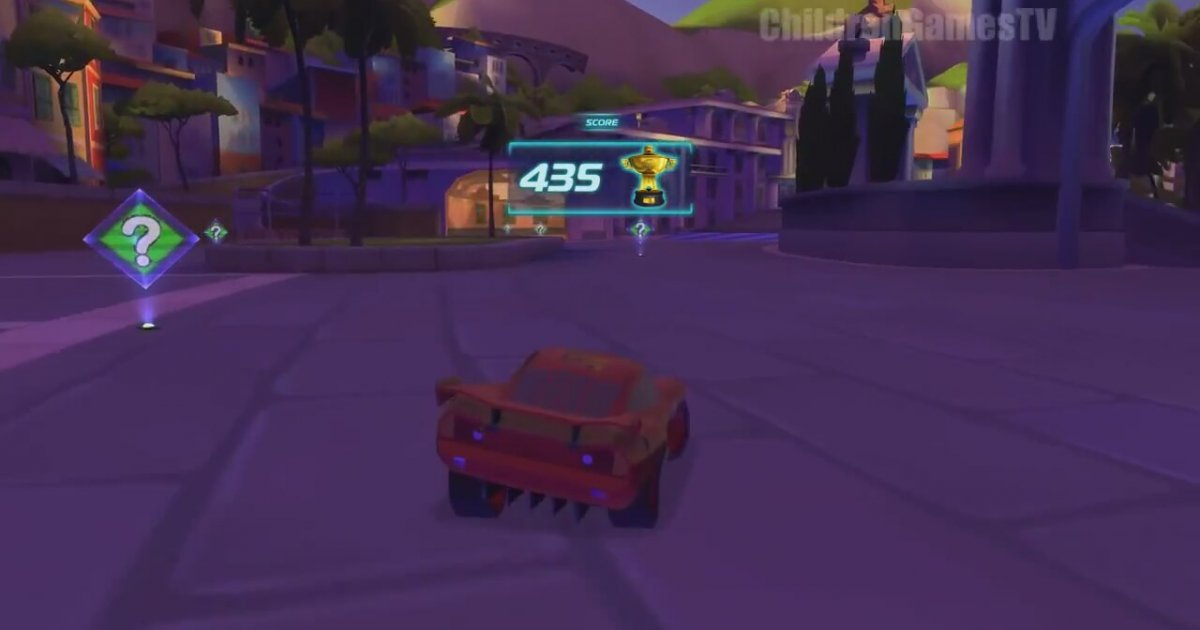 cars 2 movie game disney cars video game full races english hd video. Black Bedroom Furniture Sets. Home Design Ideas