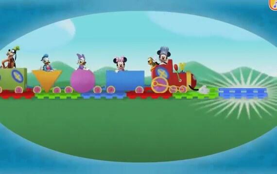 Miki Fare - Tren Macerası 9 (Çocuk Oyunları) | İzlesene.com