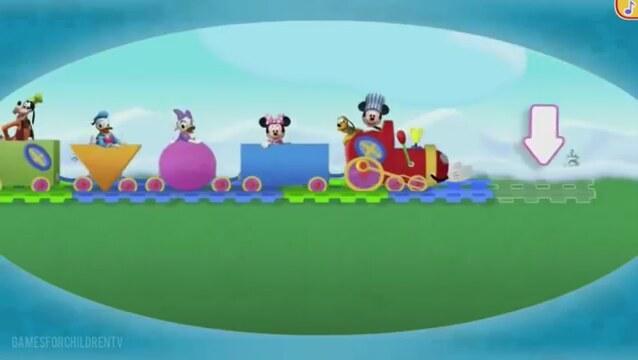 Miki Fare - Tren Macerası - Tam Çözümü 3 - (Çocuk Oyunları ...