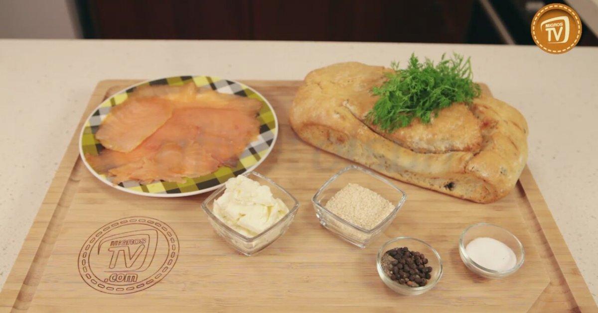 Somonlu sandviç nasıl yapılır somon somon tarifi somonlu türlü
