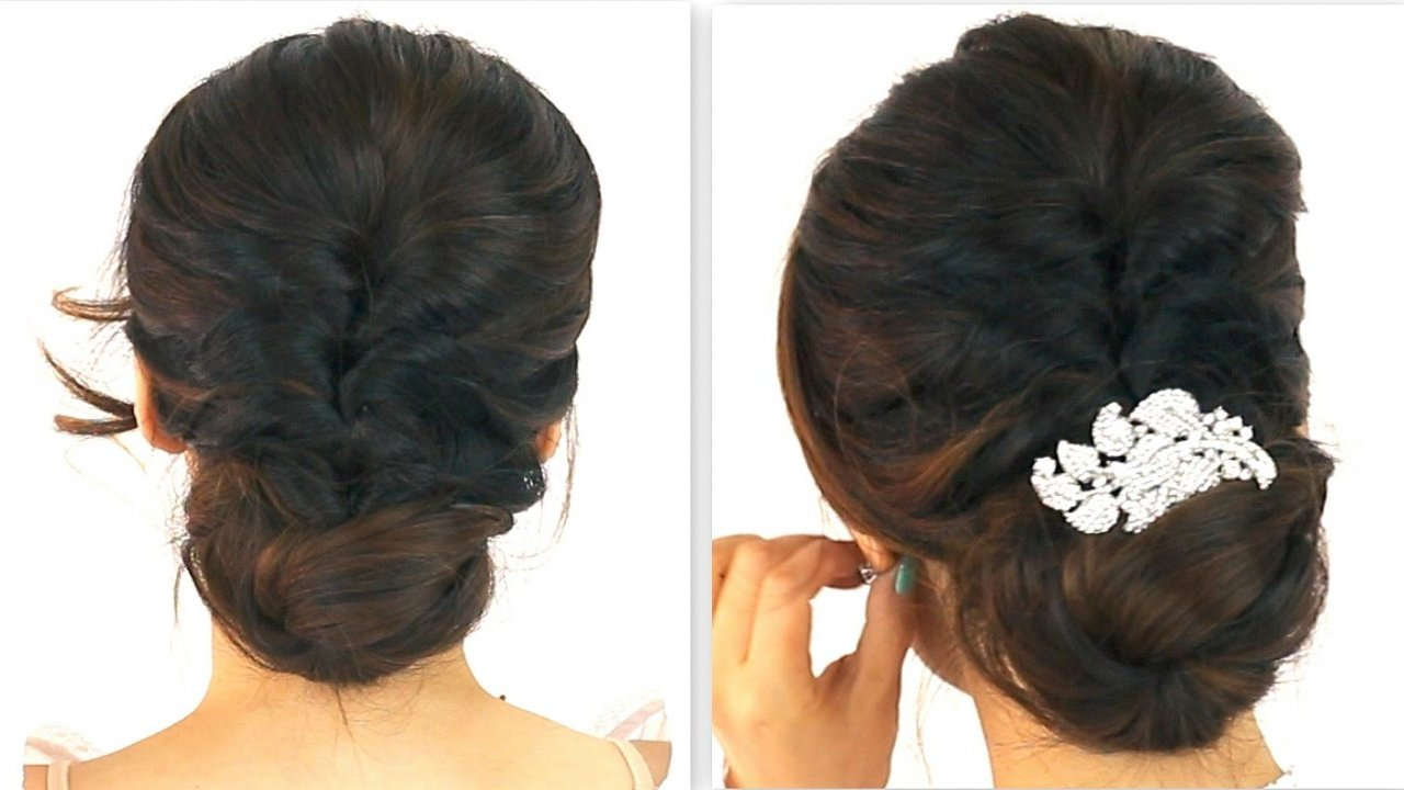 Korean hairstyle for party easy to do