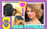 TAYLOR SWIFT HAIR TUTORIAL | CUTE HAIRSTYLES | CURLY MESSY BUN UPDOS for MEDIUM LONG HAIR | PROM