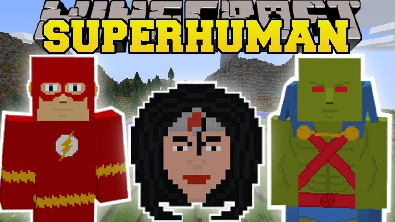 [1.7.10] Superhuman - суперчеловек