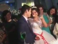 Düğünde Damadı Çileden Çıkaran Gelin