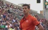 Dışarı Çıkan Topa Dokunmak  Novak Djokojic