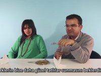 Yabancılar Türk Yemeklerini Denerse - Künefe