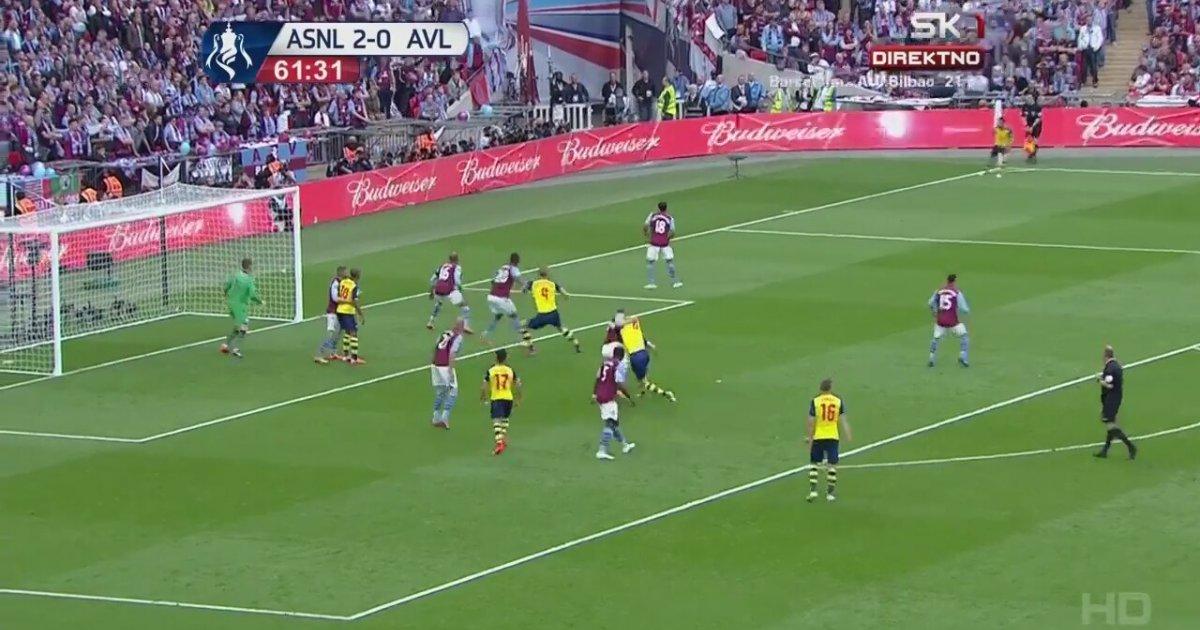 Arsenal Vs Aston Villa Fa Cup Final