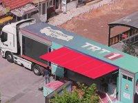 TRT Aracını Akp İkram TIR'ı Yapmak