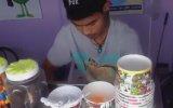 Tayland Usulü Dondurma  Sokak Lezzetleri Yumurta Yok