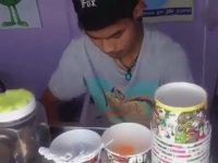 Tayland Usulü Dondurma - Sokak Lezzetleri (Yumurta Yok)