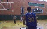 Üçlük Yarışması  Curry vs. Coach Jackson