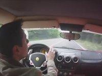 Ferrari Test Sürüşü Kazaya Ramak Kala