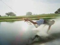 Uçak ile Su Kayağı Yapmak