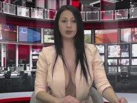 Arnavutluk'ta Yarı Çıplak Haber Sunmak - Zjarr Tv (Ateşli TV)
