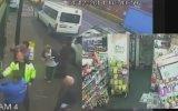 Markete Giren Hırsızı İçeri Hapsetmek