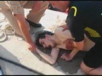 Sahil Güvenlik Tarafından Kurtarılan 18 Yaşındaki Genç