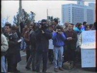 Lütfi Kırdar Spor ve Sergi Sarayı Protestosu