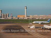 Time Lapse Olarak Tokyo Havalimanının Bir Günü
