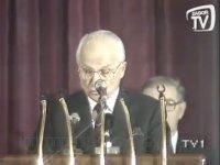 Kenan Evren - Turgut Özal - Cumhurbaşkanlığı Devir Teslim Töreni (TV1 - 1989)