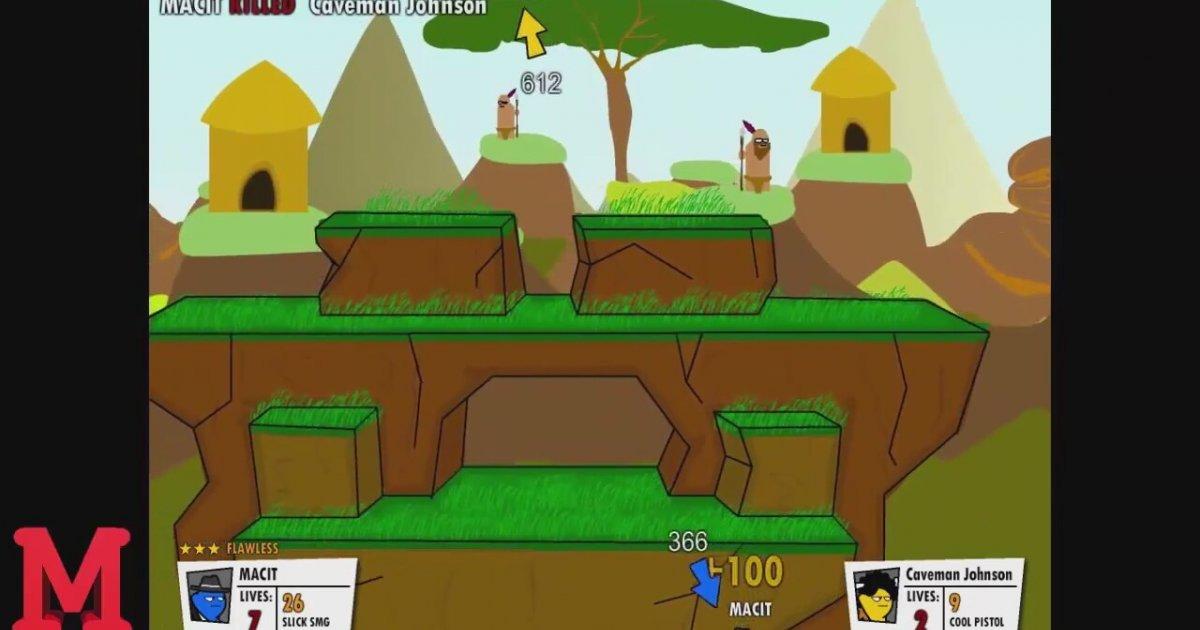 gun mayhem 2 player games unblocked for kids