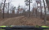 KEN BLOCK TESTS FOR HIS ATTEMPT AT A 6TH CONSECUTIVE RALLY IN THE 100 ACRE WOOD WIN