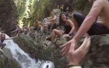 Şelaleyi Aquapark'a Çevirerek Eğlencenin Dibine Vuran İnsanlar