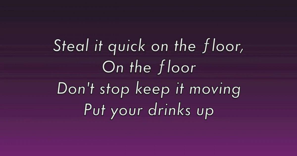 On the floor jennifer lopez lyrics izlesenecom for Lyrics of on the floor of jennifer lopez