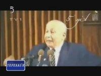 Necmettin Erbakan - Kürt Meselesi (Meclis Konuşması) TRT