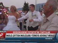 Türk Usulü Evlenen İngiliz Çift