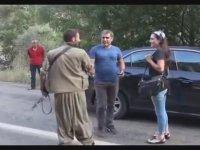 Tunceli Ovacık'ta Yol Kesen PKK'lılar