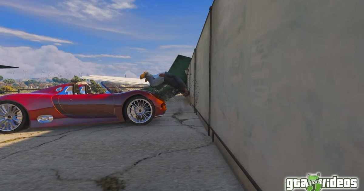 gta 5 porsche 918 spyder crash testing. Black Bedroom Furniture Sets. Home Design Ideas