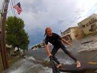 New Jersey Sokaklarında Sörf